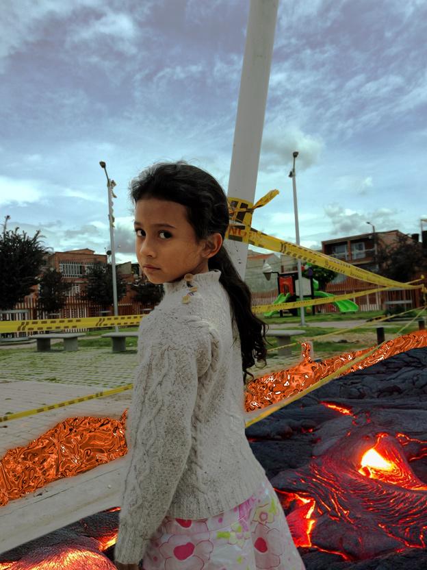 Sakura Jiménez Modelo infantil en Jocaagura