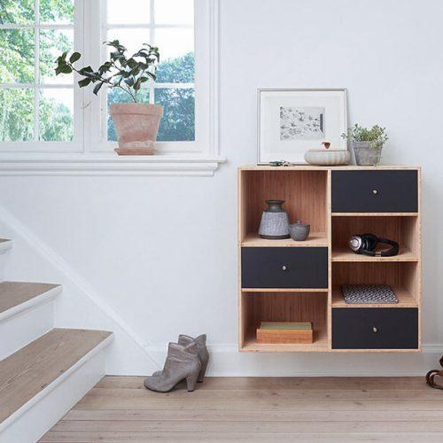 Muestra los espacios internos para la venta de las residencias disponibles