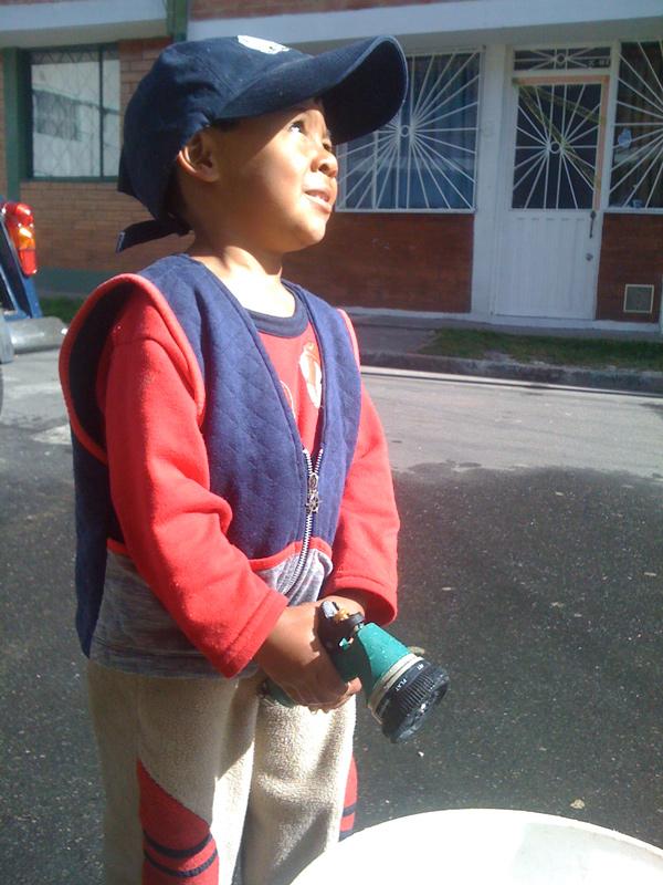 Asistente de producción y modelo infantil, Jerónimo posee una imaginación fertil y es un gran elemento dentro del equipo de trabajo de Jocaagura