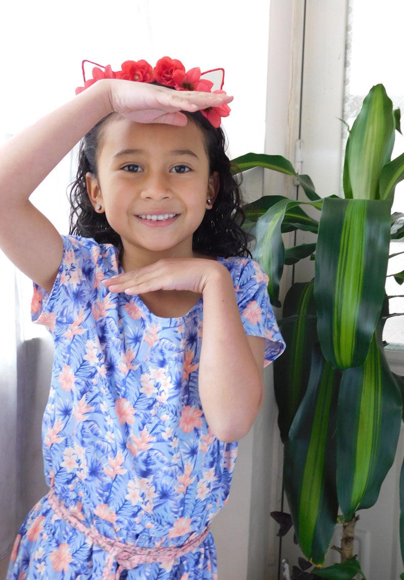Sakura Jiménez | modelo infantil