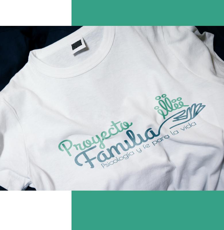 imagen camiseta proyecto familia